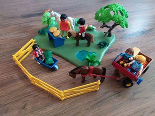 Playmobil hipica niños