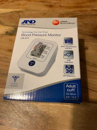 Medidor de presión arterial A&D Medical