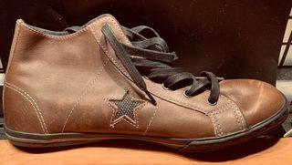 Converse one star cuero marrón / mujer / 39 NUEVA