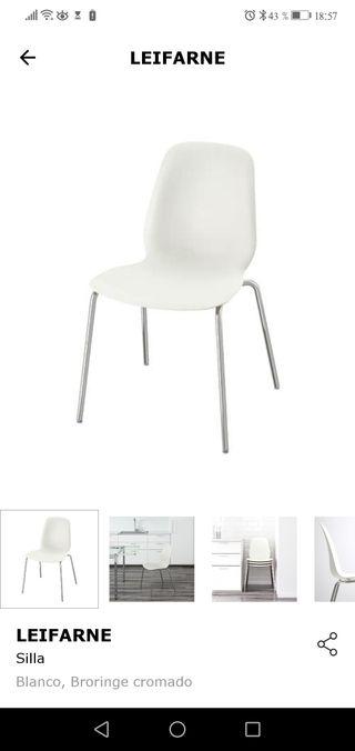 sillas leifarne Ikea