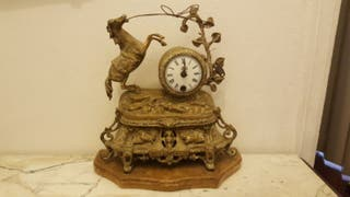 reloj antiguo de bronce del S. XIX