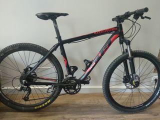 BICI BTT Wilier 409 XB Negro y Rojo bici montaña