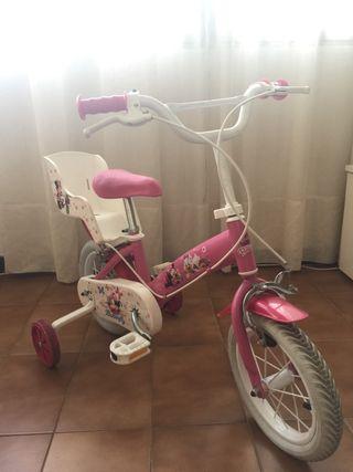 Bicicleta de Minnie para niña