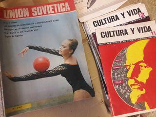 Revistas de la Unión Soviética de los años 77 y 78