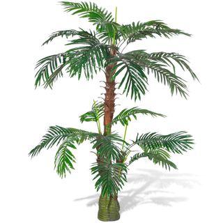 vidaXL Árbol palmera artificial Cycus 241355