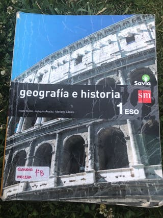 Libro 1 ESO Geografía Historia ISBN 9788467576115