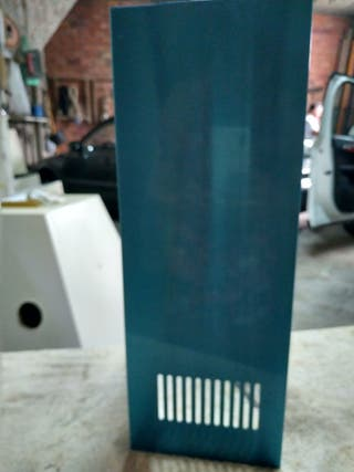 chimenea superior metalizado de campana cocina