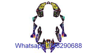 KIT ADHESIVOS QUAD KTM XC SX 450 525