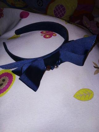 Diadema azul marino Mayoral
