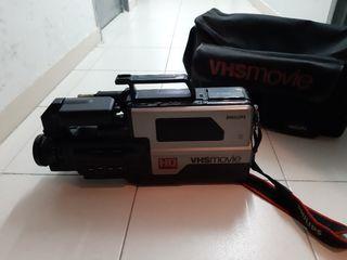 cámara video philips vhs movie
