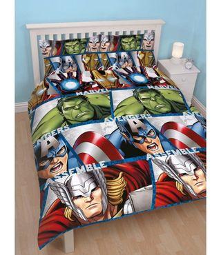 NUEVAS funda nordica Vengadores cama grande