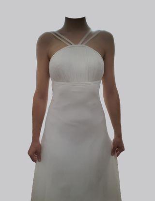 Vestido novia talla M