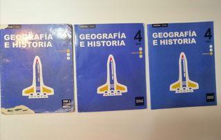 geografía e historia 4 de la Eso