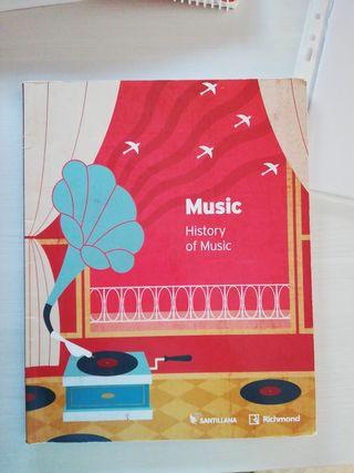 Libro de Historia de la Música en Inglés