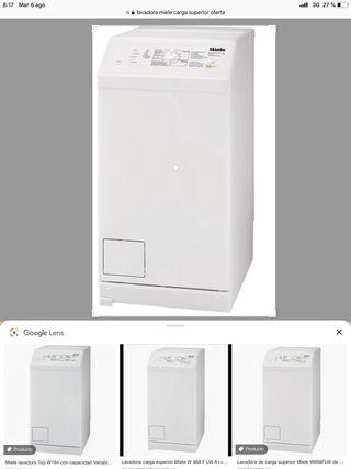 Lavadora miele carga superior
