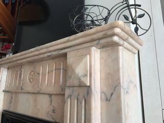 Chimenea Marmol Carrara