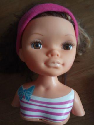 muñeca para peluquería
