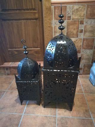 Faroles árabes para decoración