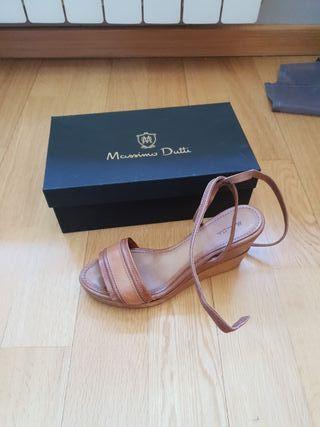 Cuñas Massimo Dutti. Talla 40