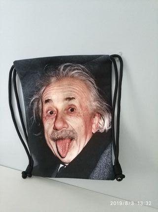 Bolsa mochila nueva de Einstein