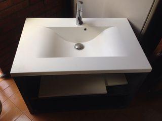 Pica de lavabo más mueble