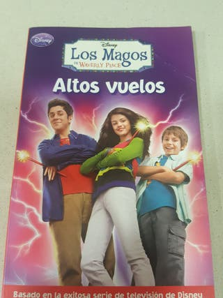 libro de los Magos de Waverly place de Disney