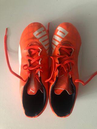 Zapatillas tacos futbol infantiles