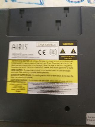DVD de coche airis funciona perfecta