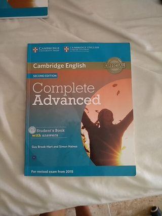 Libro Cambridge Complete Advanced (C1, inglés)