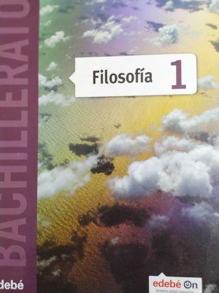 libro filosofía 1ero bachillerato edebe