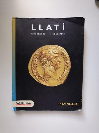 Llibre llatí primer batxillerat