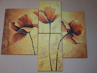 Mural de cuatro cuadros