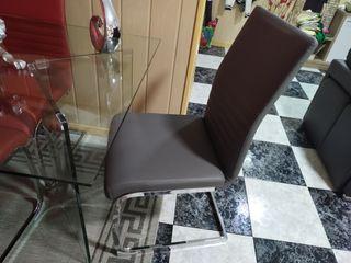 mesa comedor +sillas