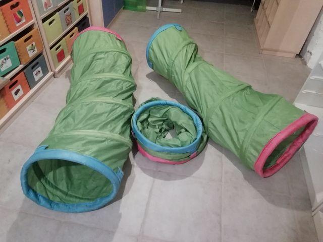 3 túneles ikea para psicomotricidad