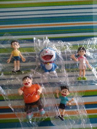Set Figuritas DORAEMON. Nuevas