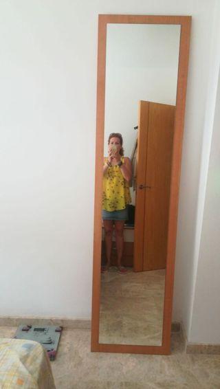 espejo d madera
