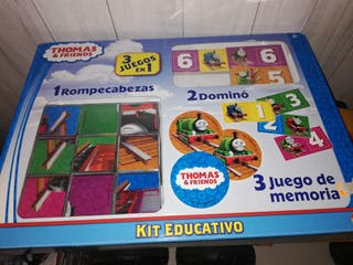 Puzzle 3 en 1 Thomas and friends