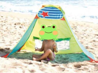 Parasol, tienda campaña Imaginarium