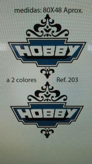 Adhesivos pegatinas Caravana Hobby