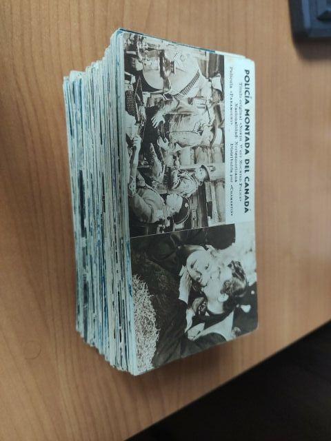Colección antigua fichas peliculas.