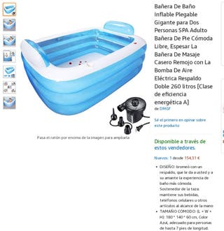 mini piscina hinflable