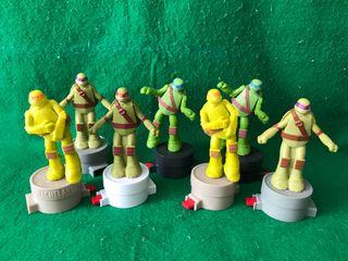 Figuras tortugas ninjas