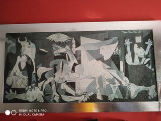 Cuadro de puzzle del Guernica