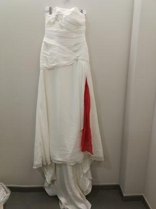 vestido novia t44