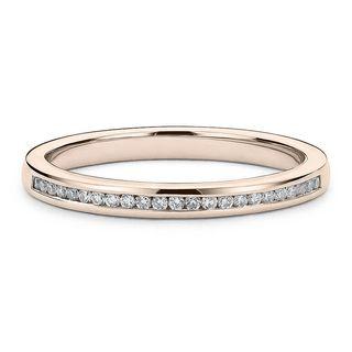 Media Alianza de Matrimonio Oro y Diamantes 0,75CT