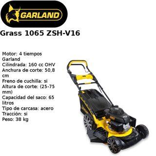 Cortacésped de GASOLINA GRASS 1065 ZSH V16