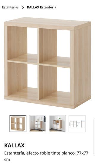 Mano Wallapop De Segunda Kallax Mueble En Ikea 7f6ybg