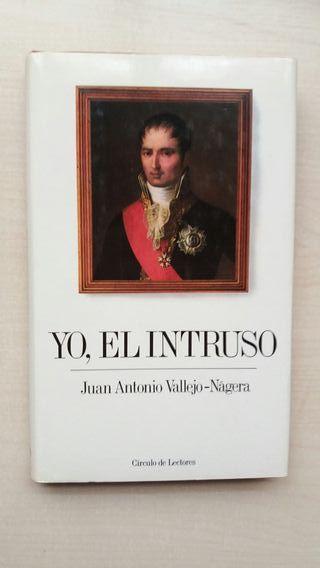 Libro Yo, el intruso. Juan Antonio Vallejo Nagera