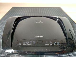 Linksys WAG320N - Cisco Modem Router ADSL2/WiFi N