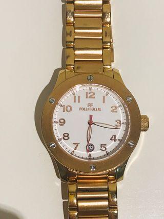 Reloj dorado Follie Follie